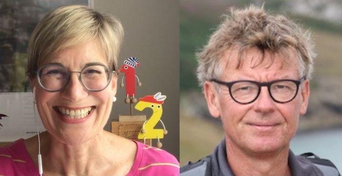 Barbara Schindelhauer und Dr Gerhard Friedrich ifvl Zahlenland Autoren