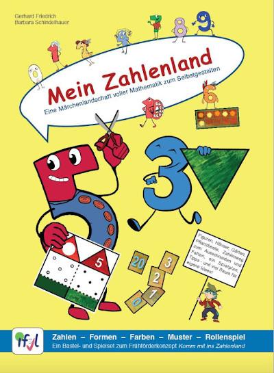 Mein Zahlenland Bastelspiel Gerhard Friedrich Barbara Schindelhauer